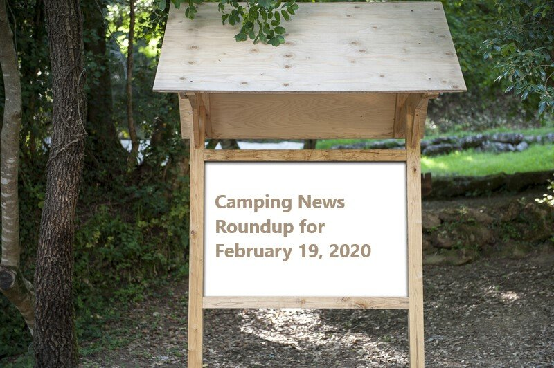 Canada camping news roundup for February 20, 2020